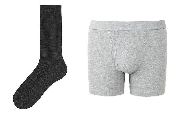 Chaussettes et sous-vêtements basiques pour homme - Uniqlo