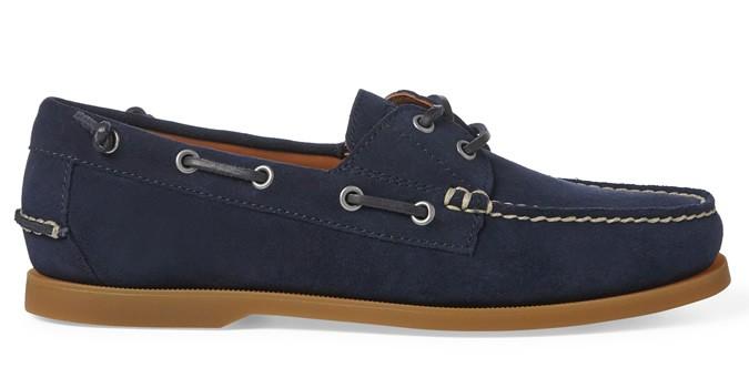 Chaussure bateau en daim Merton