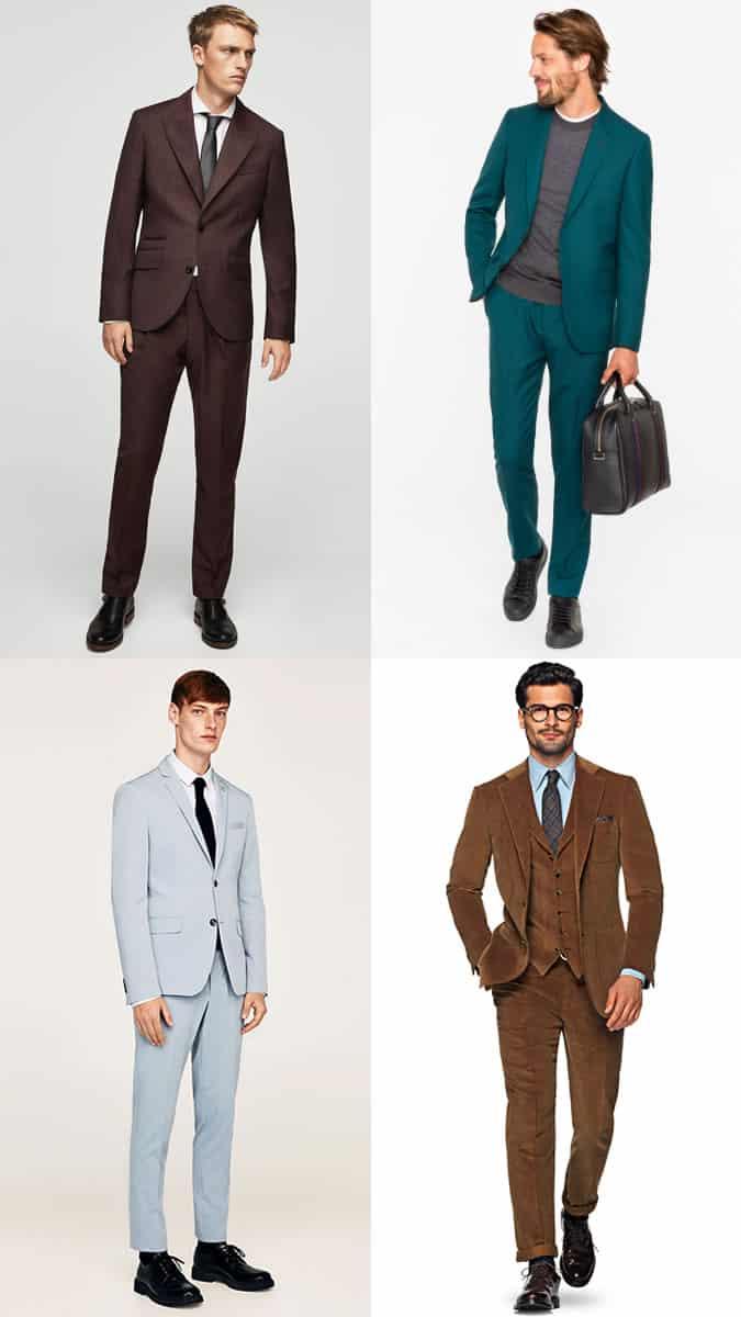 Comment porter des costumes colorés pour hommes