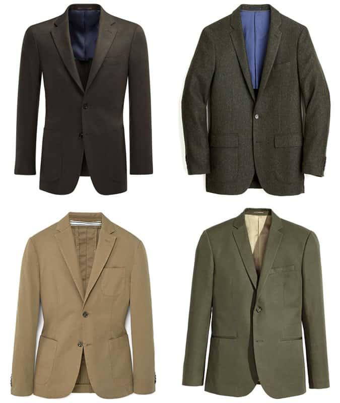 les meilleurs blazers verts pour hommes