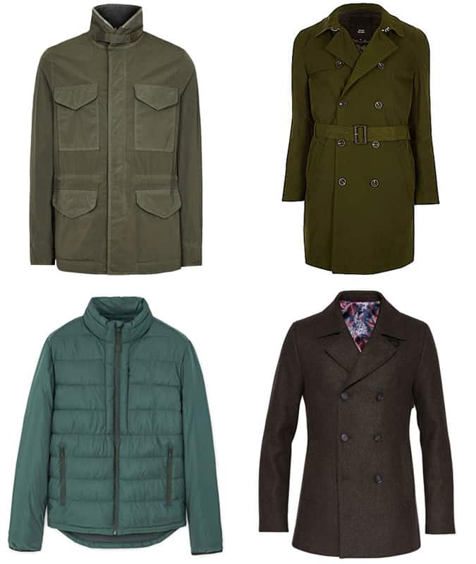 les meilleurs manteaux verts pour hommes