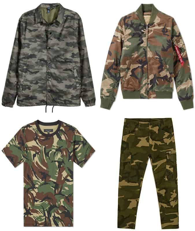 les meilleurs vêtements de camouflage pour hommes