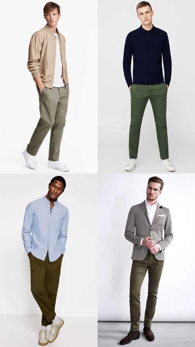 comment porter un pantalon vert