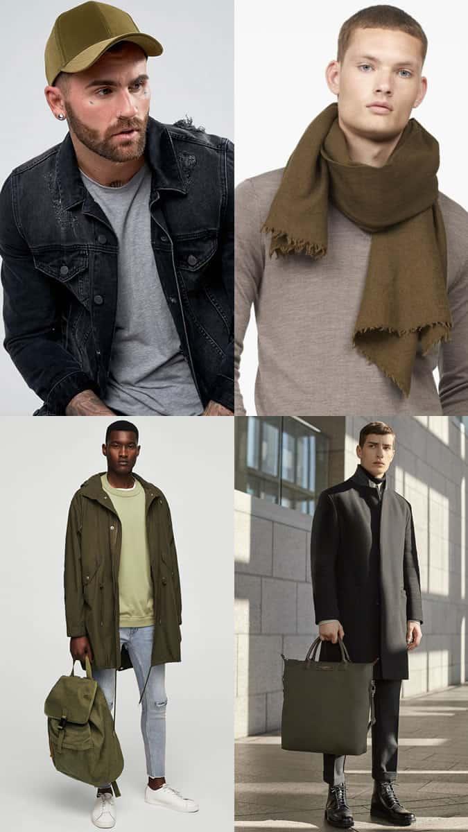 comment porter des accessoires verts