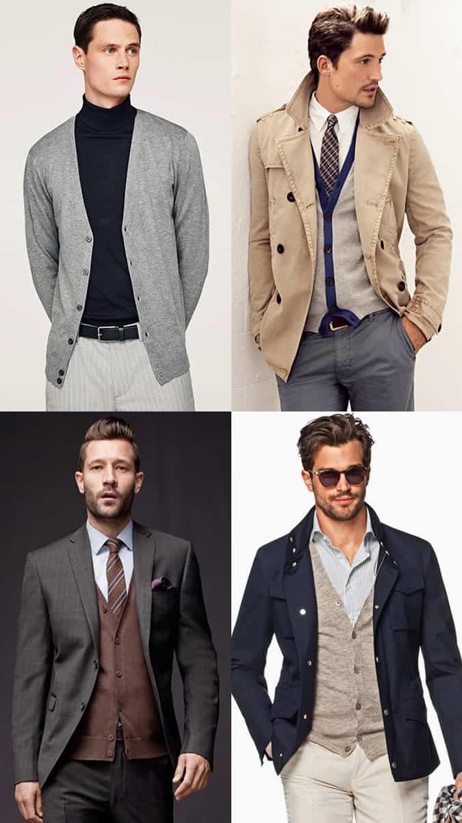 Comment porter un cardigan pour homme