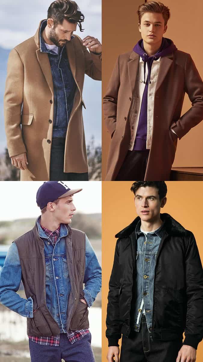 Les meilleures façons de porter une veste en jean pour homme