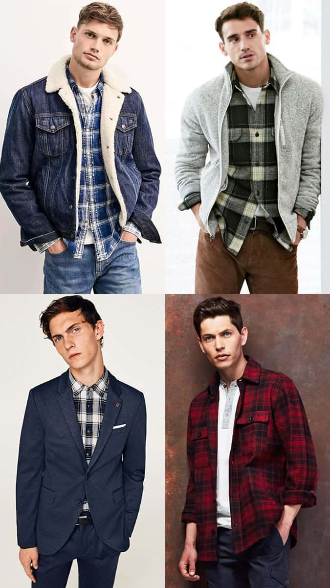 How to wear a flannel shirt in autumn/winter