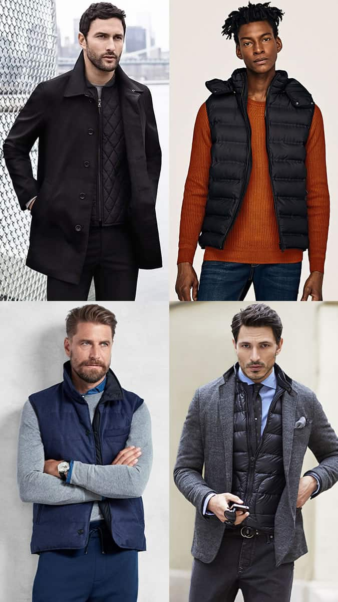 How to wear a gilet or vest in a stylish way
