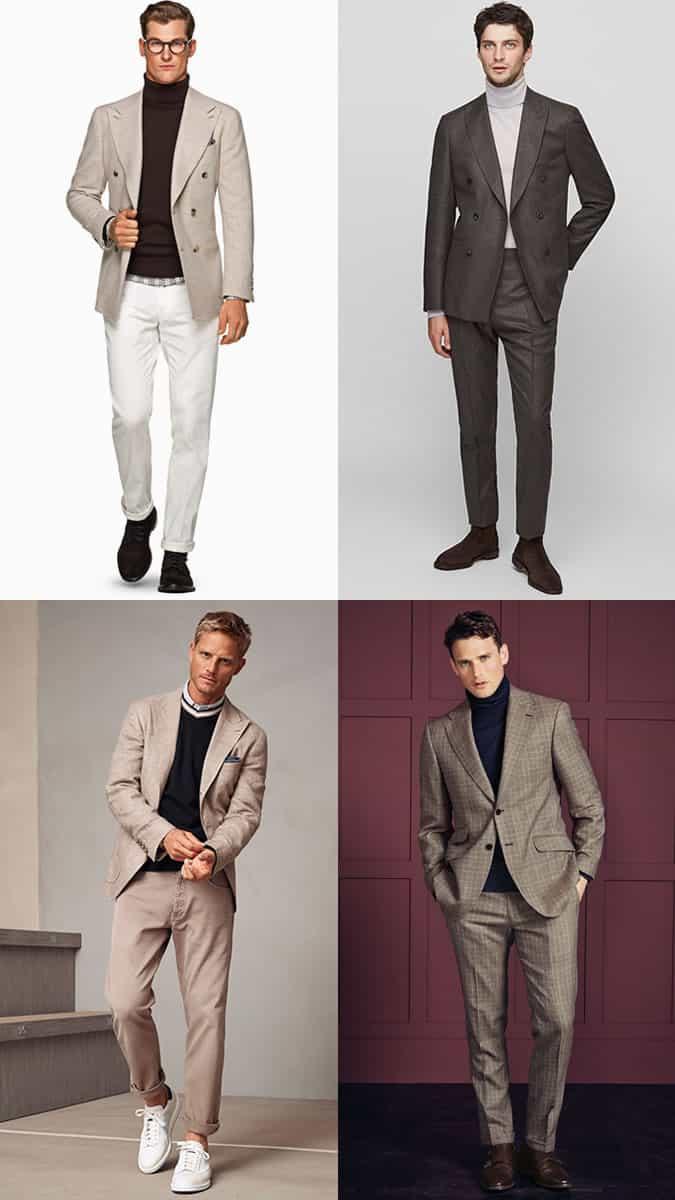 comment porter des blazers et des costumes à revers larges