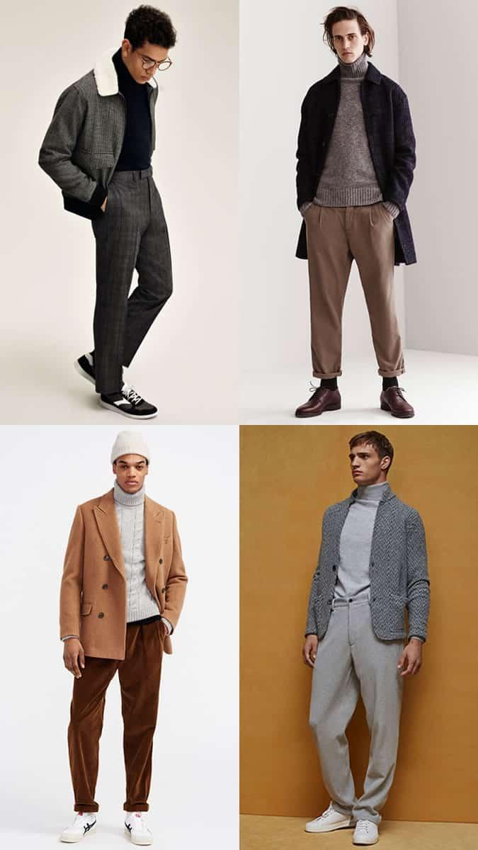 comment porter un pantalon large
