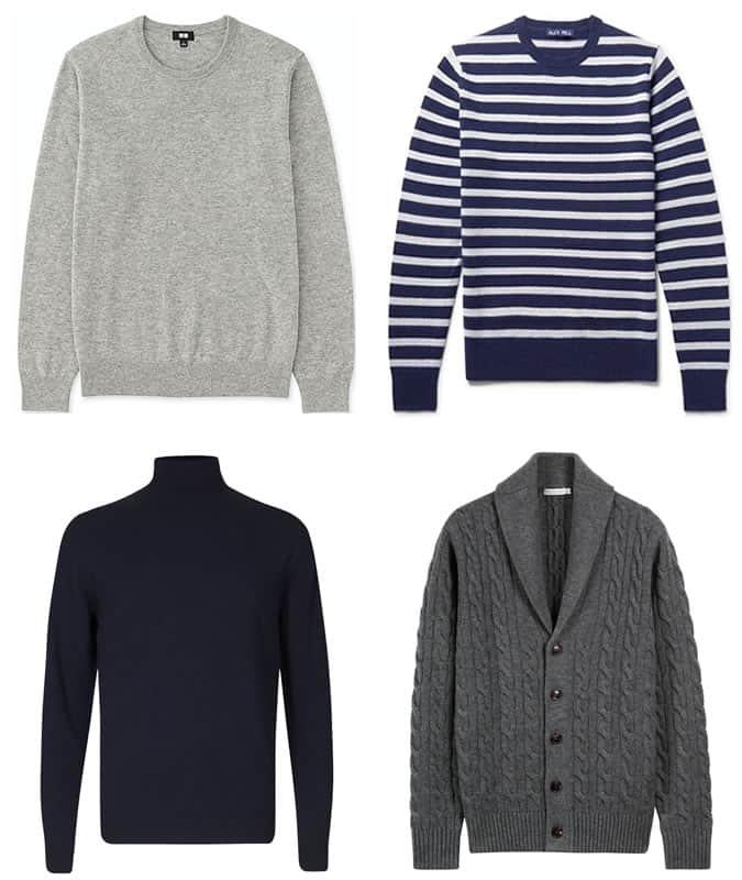 Les meilleurs tricots en cachemire pour hommes que vous pouvez acheter