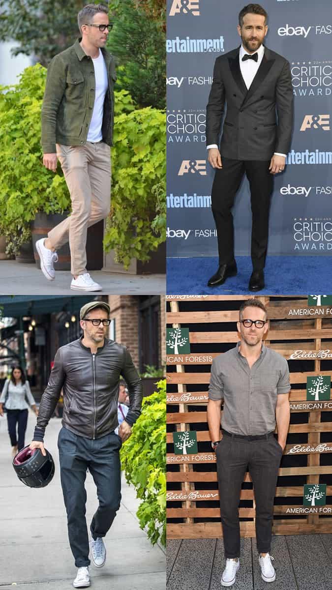 Ryan Reynolds comme icône de style dans la quarantaine