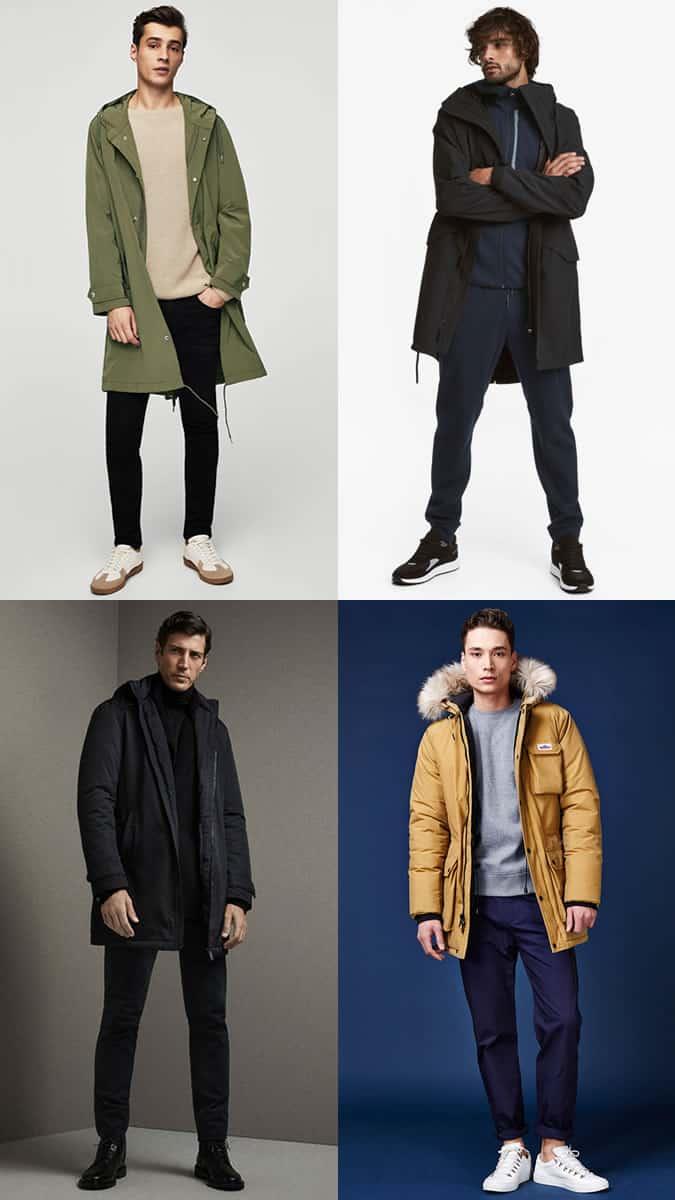 comment porter une veste parka