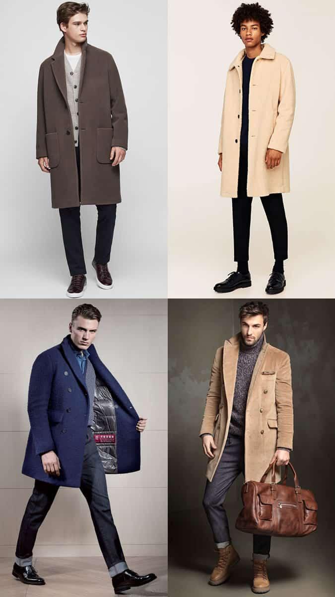 comment porter des manteaux texturés