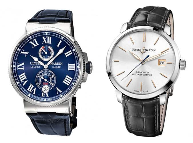 the best Ulysse Nardin watches for men