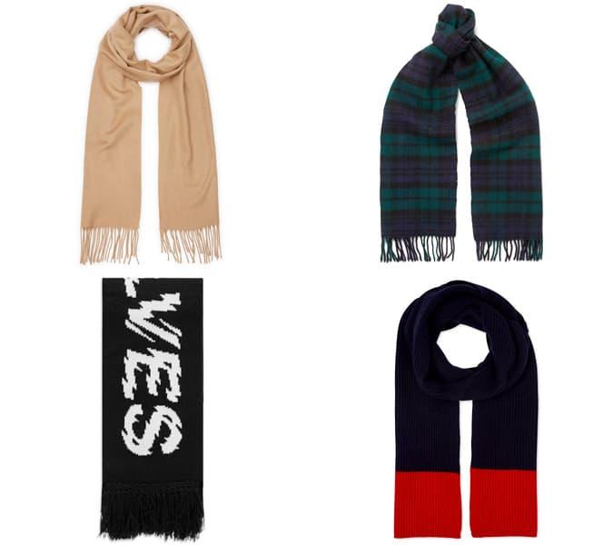 les meilleurs foulards d'hiver pour hommes