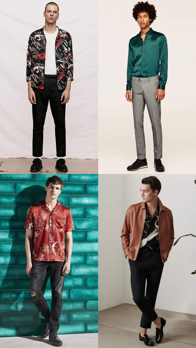 Comment les hommes devraient porter des chemises en soie