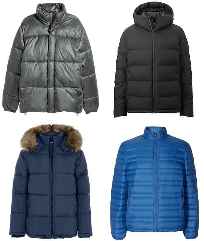 Les meilleures vestes et manteaux matelassés pour hommes