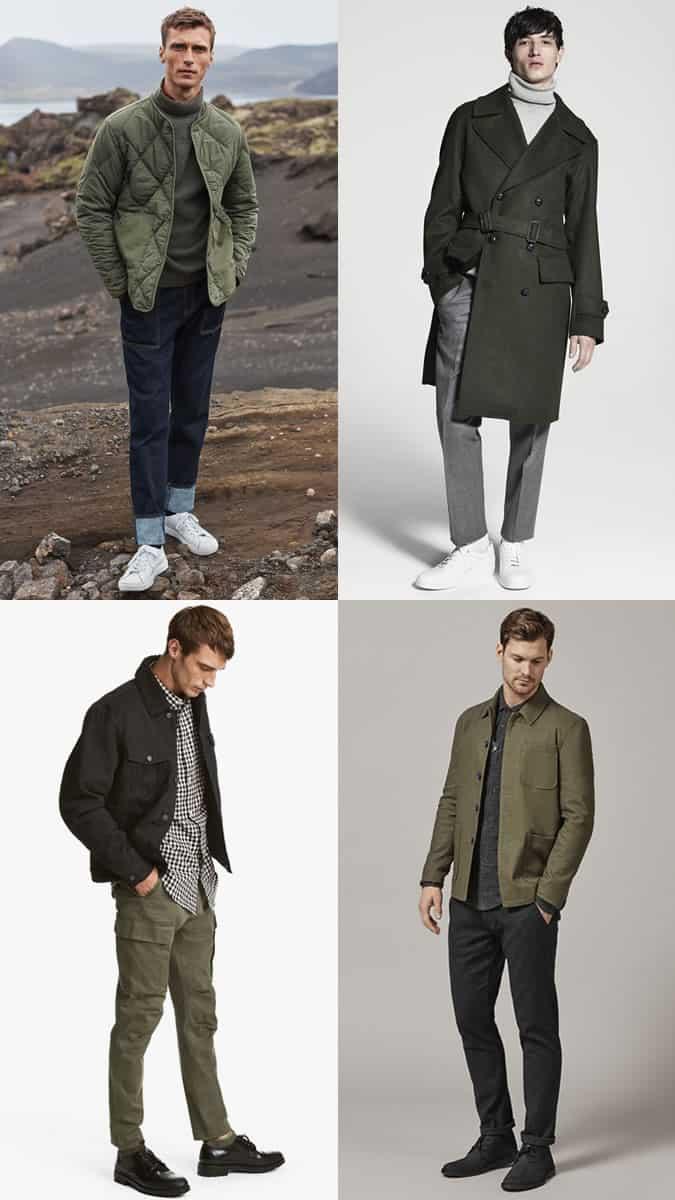 comment porter le vert pour les hommes