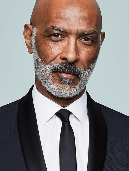 Mature Black Male Model
