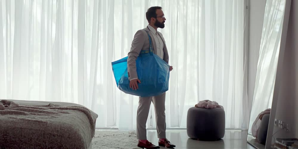 Sac en cuir Balenciaga Ikea
