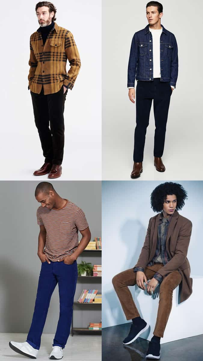 How To Wear Corduroy Trousers