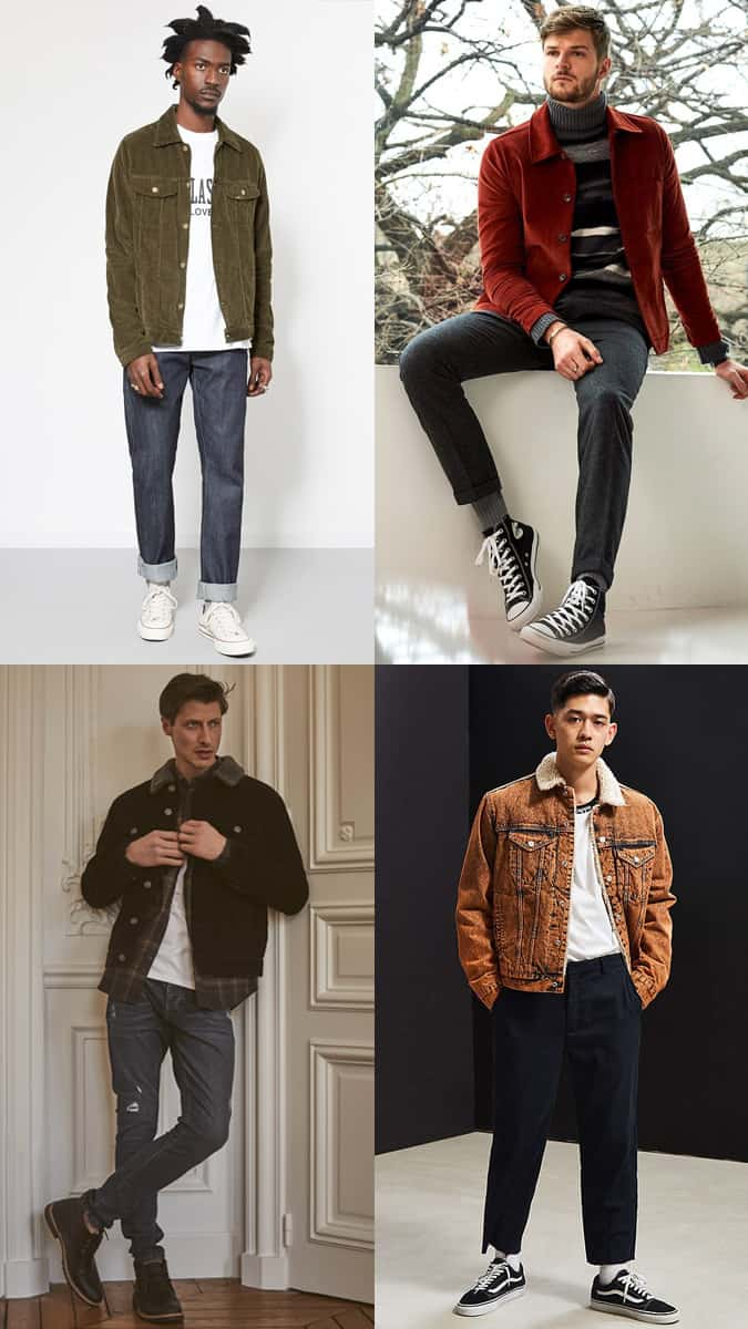 How To Wear A Corduroy Jacket