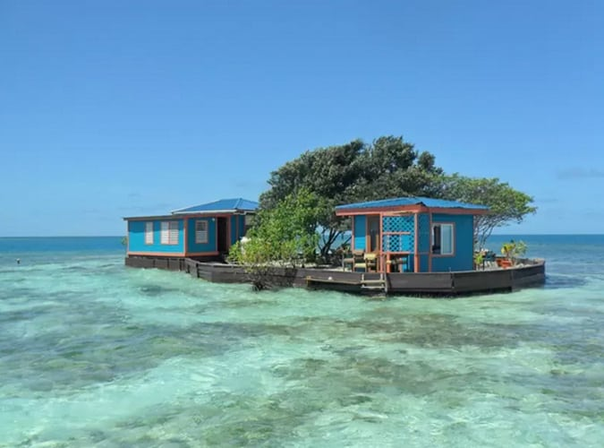 Airbnb private islands