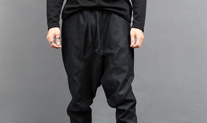 Pantalon de jogging à entrejambe pour hommes