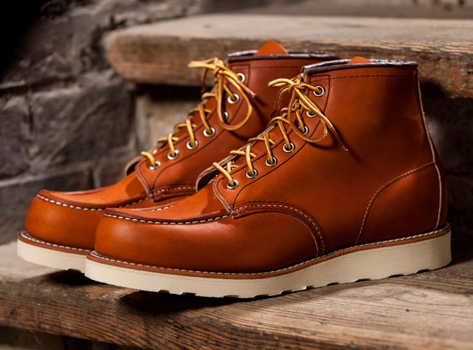 Moc classique Red Wing
