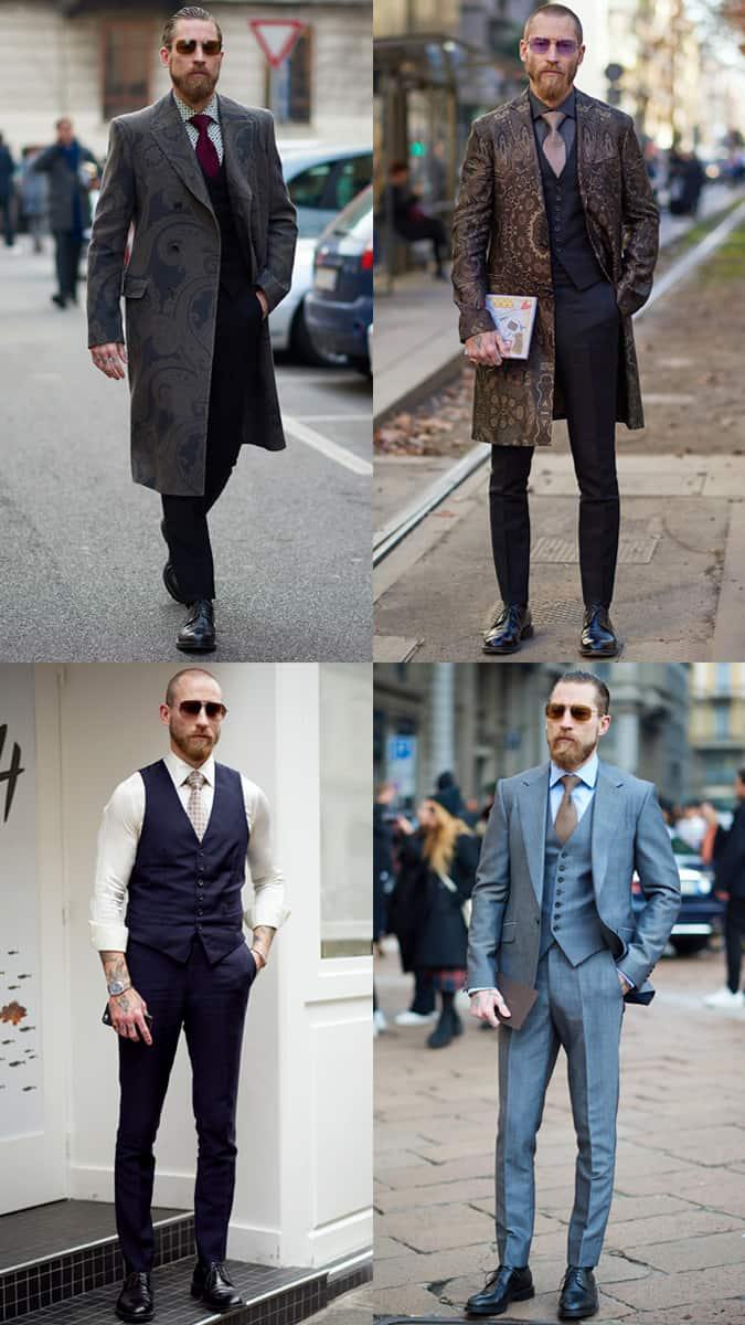 Justin O'Shea Street Style