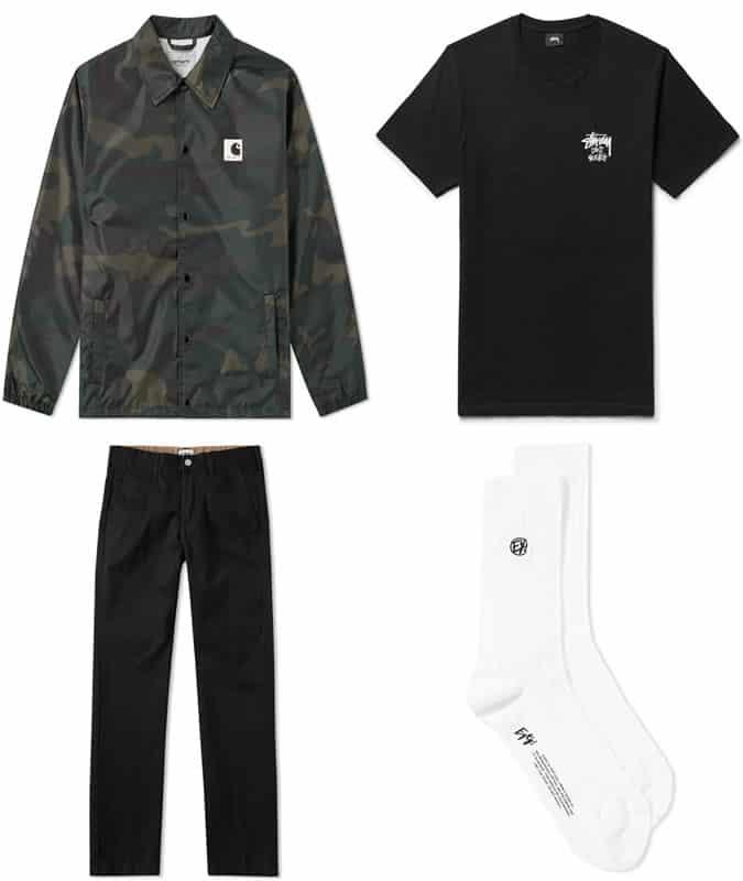 How to wear loose streetwear pants