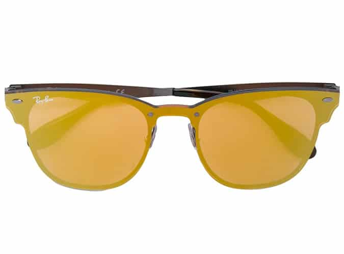 RAY-BAN contrast colour tinted sunglasses