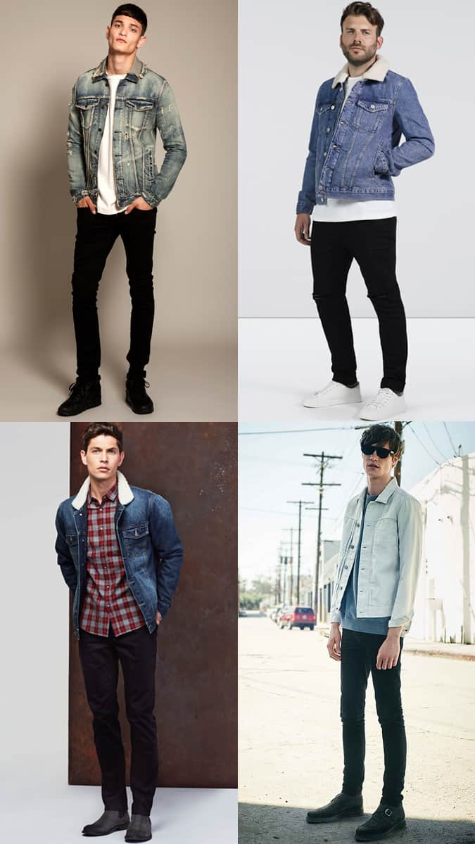 How To Wear A Denim Jacket With Black Jeans