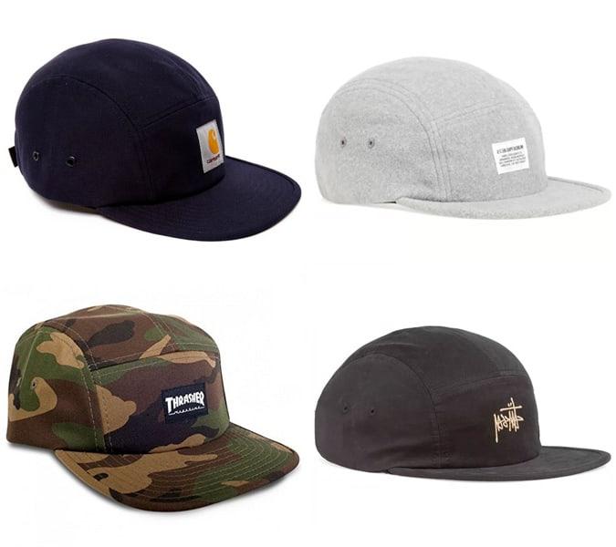 Les cinq meilleurs casquettes à panneaux