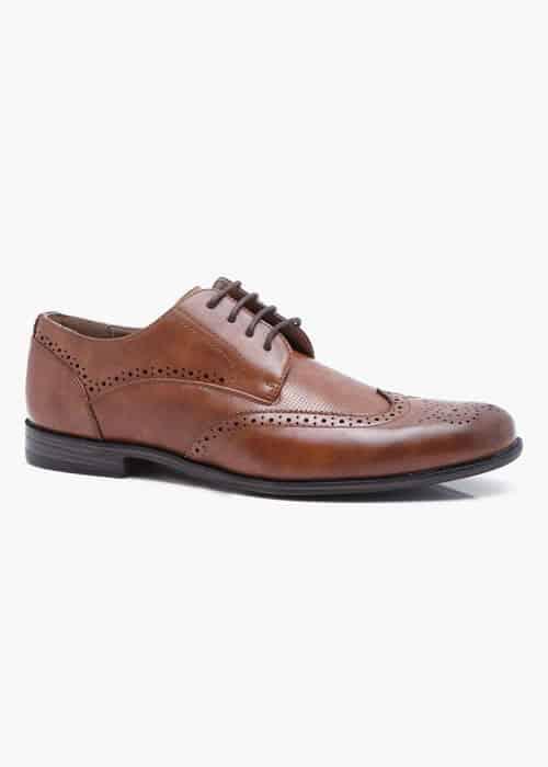 Chaussures richelieu marron BoohooMAN