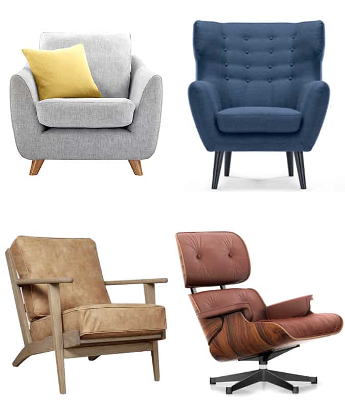 Stylish Armchairs For Men