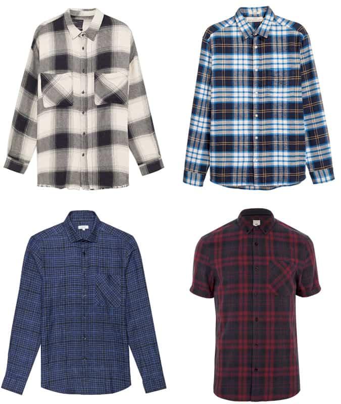 Les meilleures chemises à carreaux décontractées pour hommes