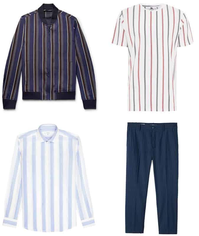 Les meilleurs vêtements à rayures verticales pour hommes