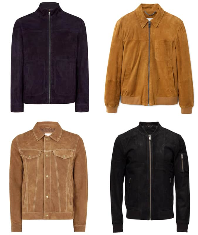 Les meilleures vestes en daim pour hommes