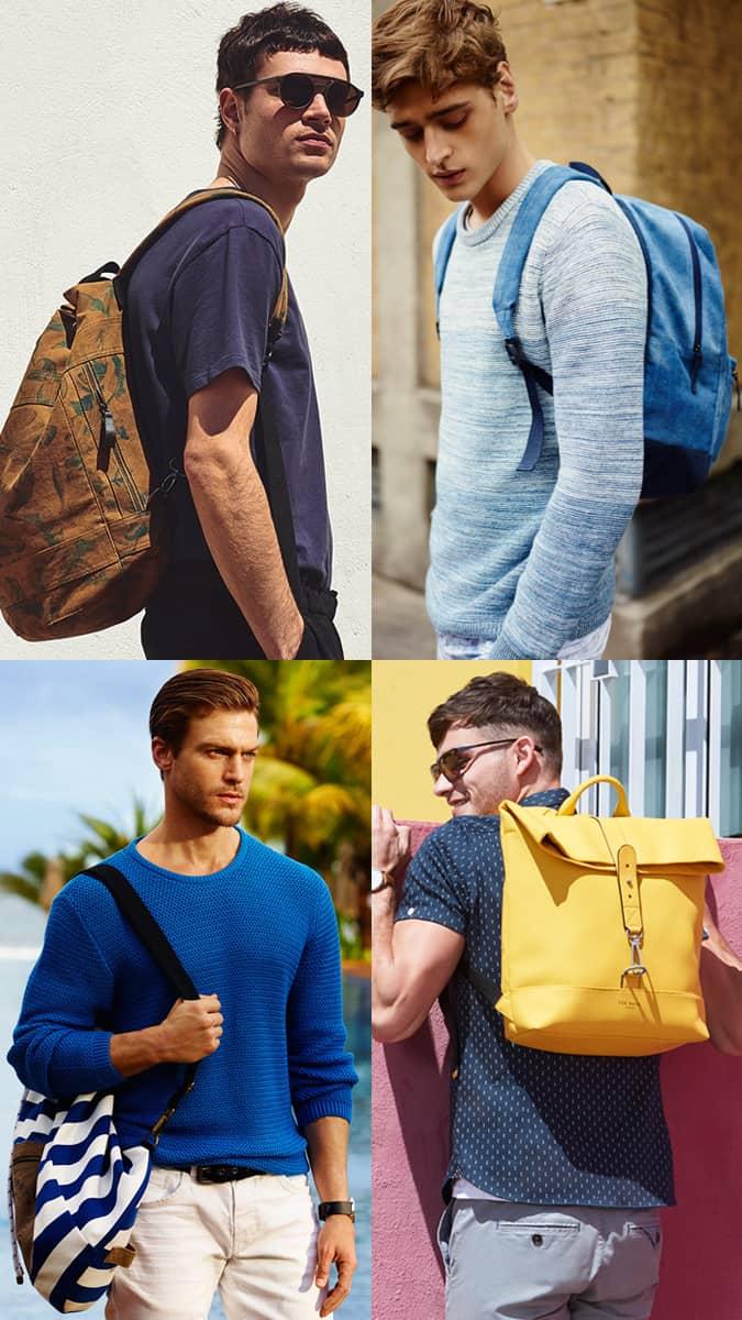 Comment coiffer un sac à dos audacieux