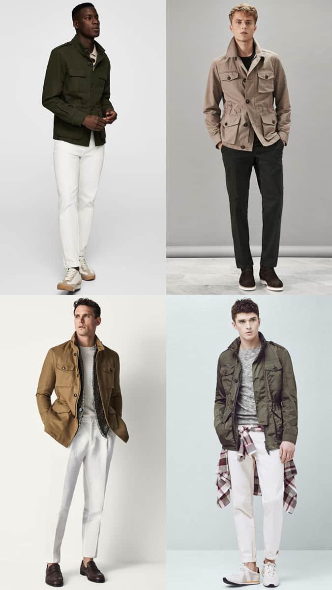 Comment porter une veste de campagne