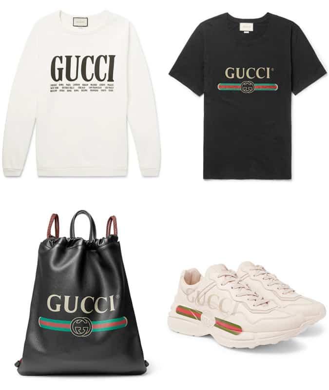 Les meilleurs produits de logo Gucci