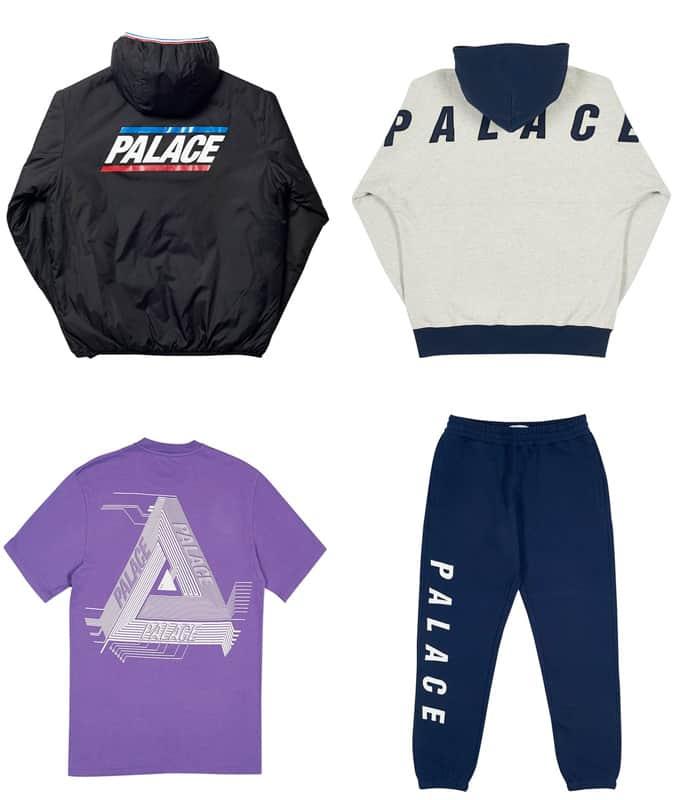 Le meilleur streetwear à logo Palace pour homme