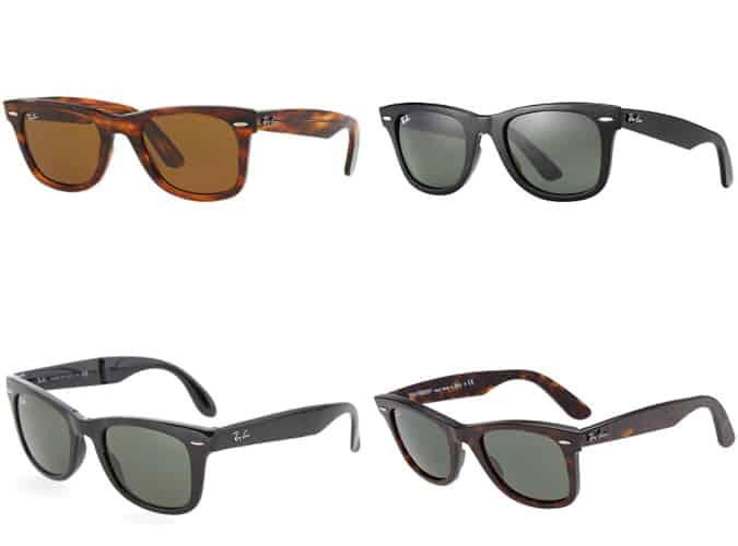 Les meilleures lunettes de soleil Ray Ban Wayfarer originales