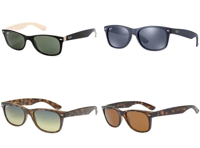 Les meilleures lunettes de soleil Ray Ban Wayfarer II pour hommes
