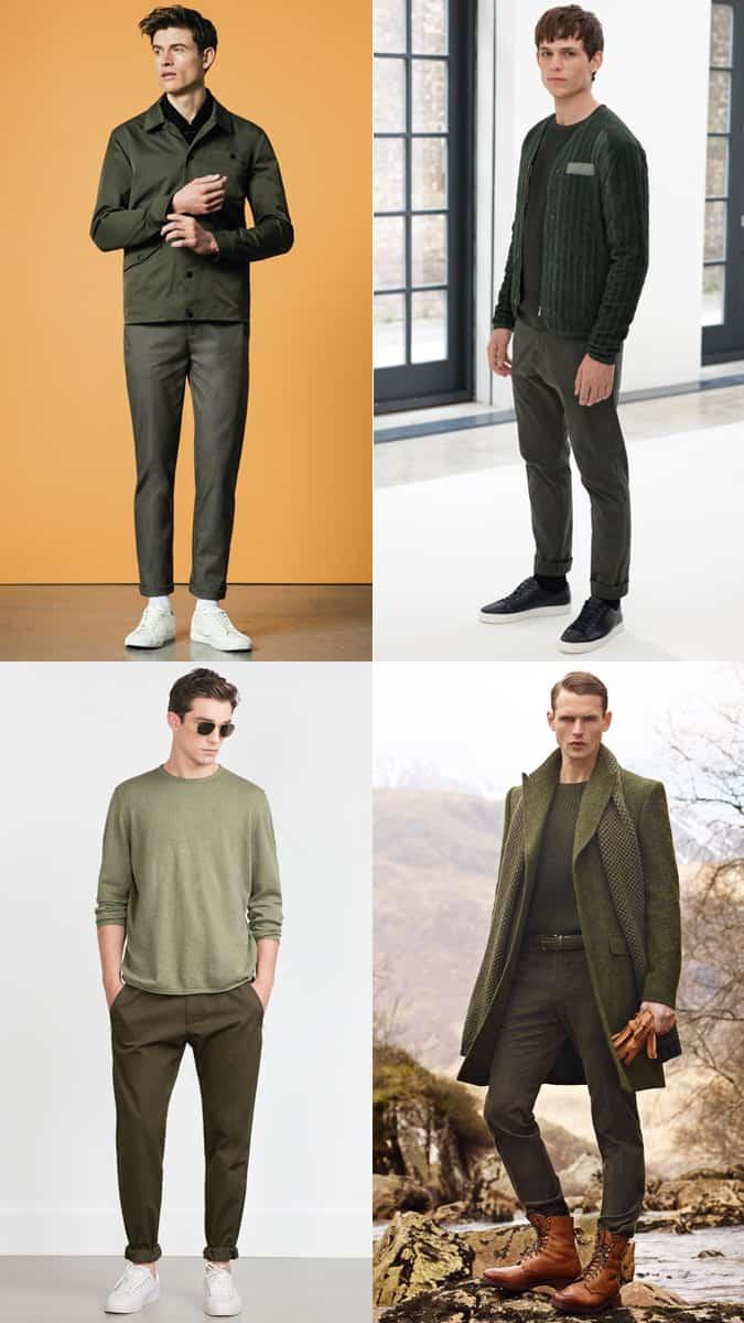 Comment porter une tenue entièrement verte