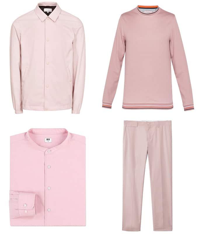 Les meilleurs vêtements roses milléniaux pour hommes