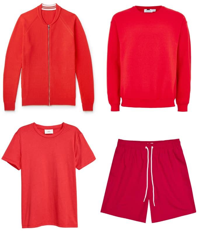 Les meilleurs vêtements rouges pour hommes pour l'été