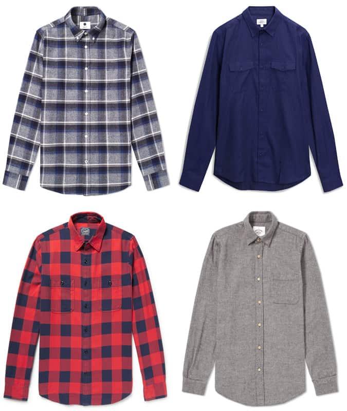 Les meilleures chemises en flanelle pour hommes
